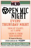At The HUB - Open Mic